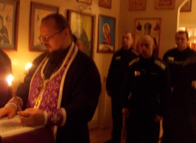 Малое повечерие с чтением Великого канона преподобного Андрея Критского в ИК-8