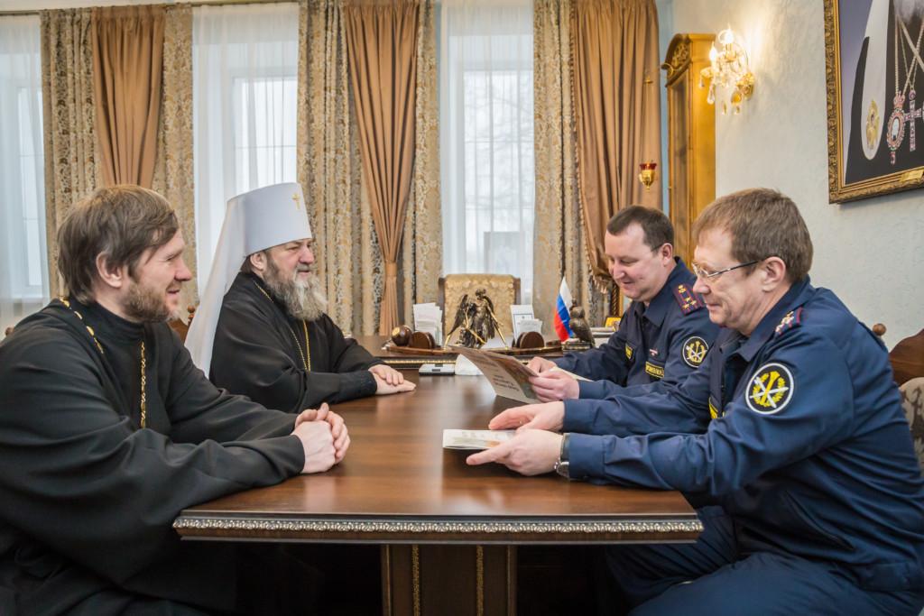 Встреча с начальником УФСИН УР