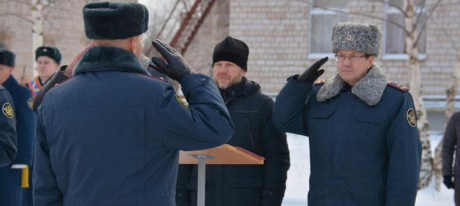 Молодые сотрудники УФСИН принесли присягу на верность Отчизне